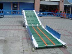 Conveyor belt for unloading T-265V wagons