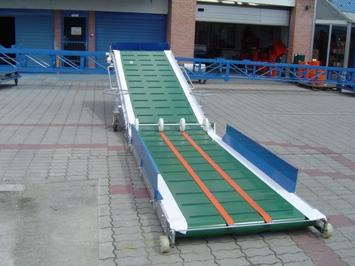 Banda transportoare pentru descarcarea vagoanelor T-265V