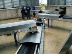 Conveyor belts used in industry